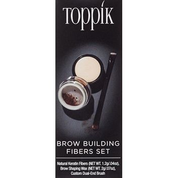 Toppik Brow Building Fibers Set 0.07oz - Walmart.com