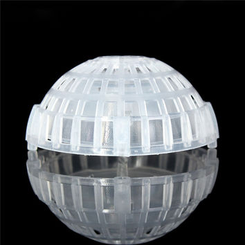 Lowest Price Plastic Transparent Moss Floating Ball Aquarium Fish Tank Nature Live Plants Moss Floating Ball Cultivation 5 x 2cm