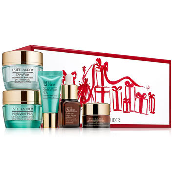 Estée Lauder 5-Pc. Protect & Hydrate 5 pc. Collection for Travel or Trial Gift Set | macys.com