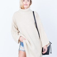 Cozy Oversized Sweater Top