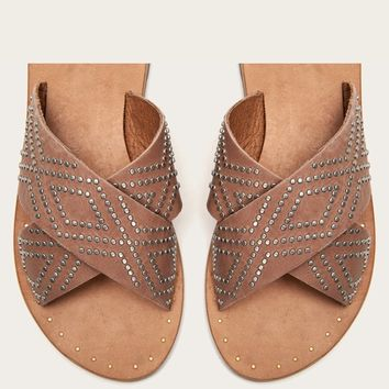 Ally Deco Stud Criss Cross