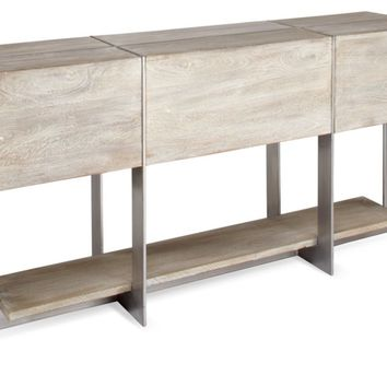 Clifton Console Table | Parker Relaxed Living Room Inspiration | Living Room Inspiration | Inspiration | Z Gallerie