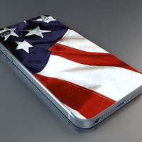 american flag case IPhone 4/4s,5/5s,6, Samsung Galaxy S2,S3,S4