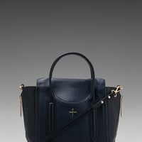 Pour La Victoire Provence Satchel in Navy from REVOLVEclothing.com