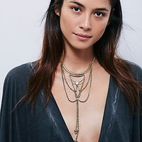 Free People Womens New Age Collar