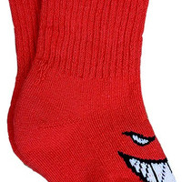 Spitfire Bighead Toddler Crew Socks Red 1t-4t1 Pair