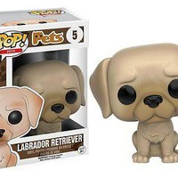 Funko Pop Pets: Labrador Retriever Dog Vinyl Figure