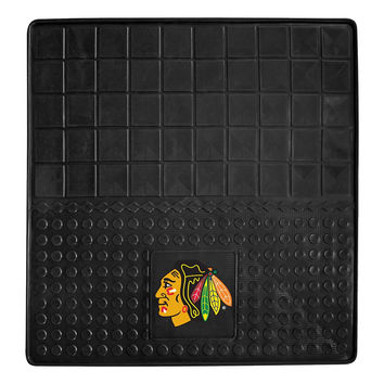 Chicago Blackhawks NHL Vinyl Cargo Mat (31x31)