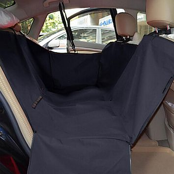 Pet Dog and Cat  Car Back Seat-Cover. Mat Waterproof Hammock for Cat and Dog travel.