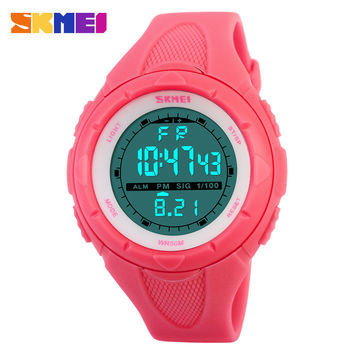 SKMEI Luxury Brand Women Watch Waterproof Military Sports Fashion Casual Watches Digital LED Wristwatches For Men Women