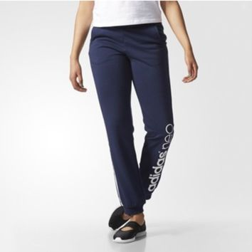 """Adidas"" Women Letter Print Casual Long Pants Sweatpants"