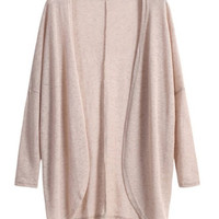 Apricot Open-Front Cardigan