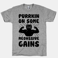 Purrkin' On Some Meowssive Gains