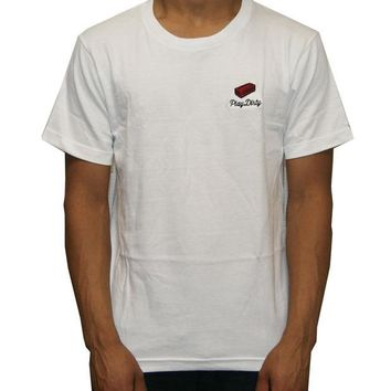 ONETOW Undefeated Brick Tee In White