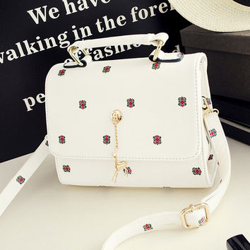 Womens Fashion Retro Leather Shoulder Bag Female Casual Crossbody Bag Women Messenger Bags Chic Handbag Gift 29
