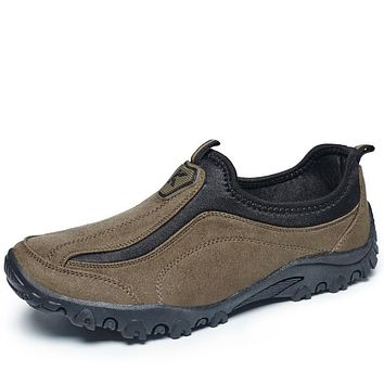 Casual Outdoor Slip On Oxfords Durable Trek Shoes