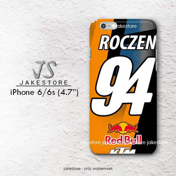 Ken Roczen 94 KTM iPhone Case 4 4s 5 5s 5c 6 6s Plus