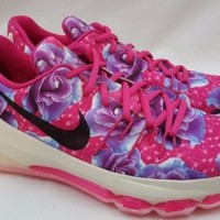 Nike KD VIII 8 GS Aunt Pearl Kay Yow Shoes Size 7Y Breast Cancer Pink 837786-603