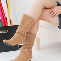 ICIK0OQ On Sale Hot Deal Stylish Winter With Heel Boots [9432963082]