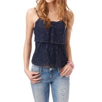 Two Tier Lace Cami