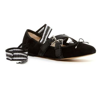 Sam Edelman Women's Fianna Black Flat Shoes