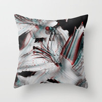 Red, White, & Blue Throw Pillow by Shelby Rushie | Society6