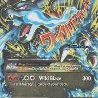 Pokemon M Charizard Ex 69/106 Flashfire Card