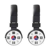 Taegeuk, Taiji, the Great Ultimate, the yin-yang T Headphones