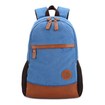 Casual Back To School College Stylish On Sale Comfort Hot Deal King Size Canvas Korean Vintage Backpack [6304977476]