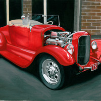 26 Ford Art Print by Anthony Billings