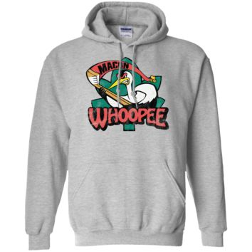 Retro Macon Whoopee Inspired Pullover Hoodie