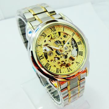 Stainless Steel Automatic Mechanical Watch Men