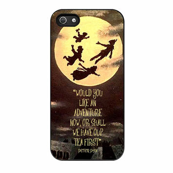Peter Pan Quote iPhone 5 Case