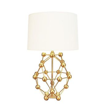 Phoenix Table Lamp | Gold