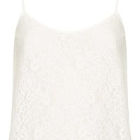 Lace Cropped Cami - Sale - Sale & Offers - Topshop