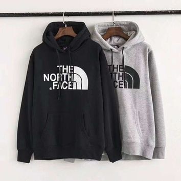 PEAPUF3 THE NORTH FACE Men Fashion Splicing Print Long Sleeve Hoodie Pullover Sweater  G-ZDL-STPFYF