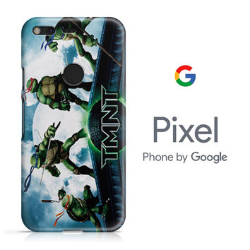 TMNT Ninja Turtle Google Pixel Phone 3D Case