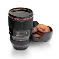 Plastic Camera Lens Coffee Mug