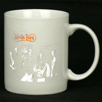 White Lion Anthology For Ceramic Mugs Coffee *