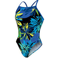 Nike Swim Retro Floral Classic Lingerie Tank at SwimOutlet.com - Free Shipping