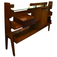 Lost City Arts - Gio Ponti Ico Parisi - Beautiful Gio Ponti Console - 1stdibs
