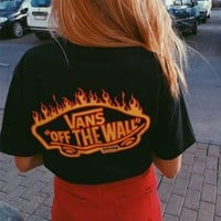 vans x thrasher pocket t shirt