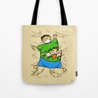 Happy Easter Tote Bag by Giuseppe Lentini