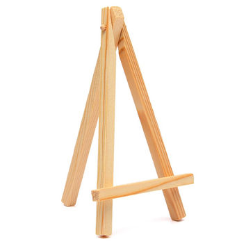 High Quality 9*16cm Mini Wood Artist Easel Wedding Table Calendar Number Place Name Card Stand Display Holder DIY