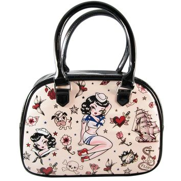 "Suzy Sailor ""Limited Edition"" Bowler Bag"