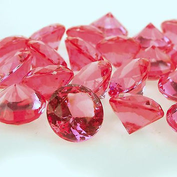 Acrylic Gemstone Table Scatter, 1-3/8-inch, 60-Piece