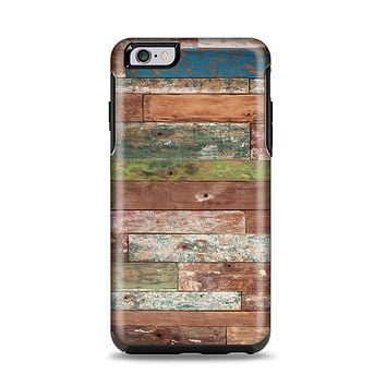 The Vintage Wood Planks Apple iPhone 6 Plus Otterbox Symmetry Case Skin Set