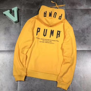 Puma Fashion Hooded Top Pullover Sweater Hoodie