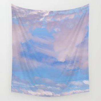 The Colour of Clouds 05 Wall Tapestry by NaturalColors