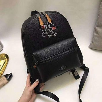 DCCKHNW Coach Disney Limited Edition bag Mickey backpack